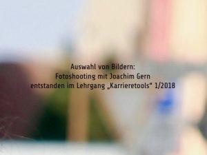 Deckblatt Karrieretools Fotoshooting