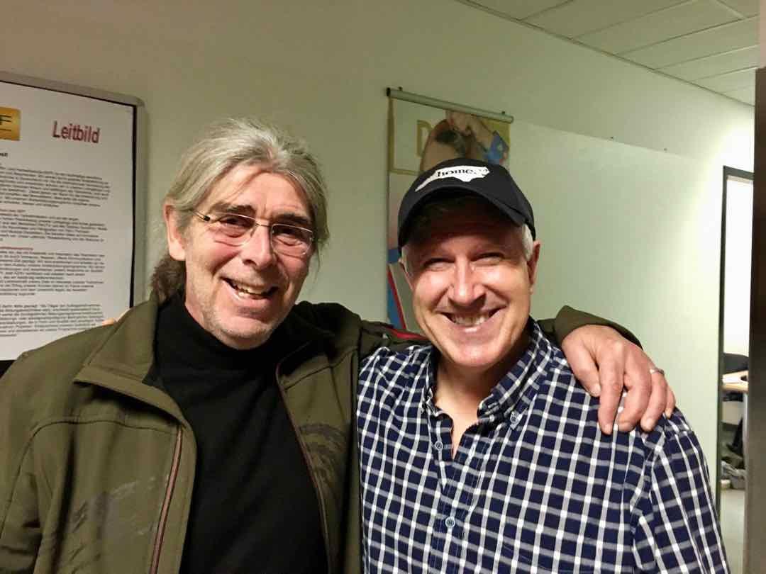 Lehrgangsleiter Uwe Bünker & Coach Jordan Beswick (USA)